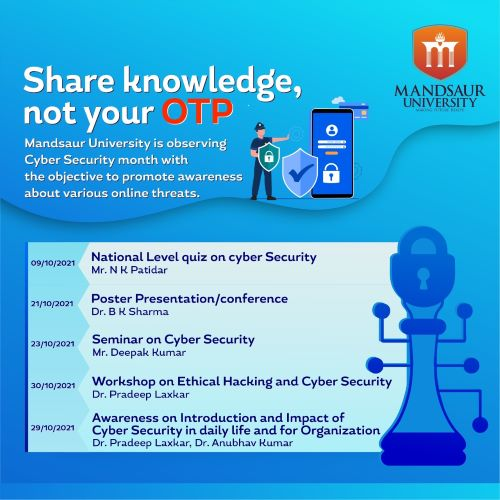 National Cyber Security Awareness Month (NCSAM)